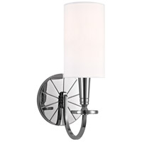 Mason 1 Light 5 inch Polished Nickel Wall Sconce Wall Light