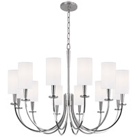 Hudson Valley 8032-PN Mason 12 Light 35 inch Polished Nickel Chandelier Ceiling Light
