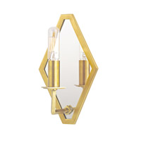 Hudson Valley Lighting Alford Wall Sconce in Aged Brass 810-AGB