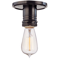 Hudson Valley Lighting Heirloom 1 Light Semi Flush in Old Bronze 8100-OB