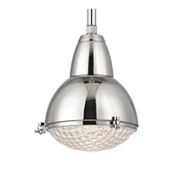 Hudson Valley Lighting Belmont 1 Light Pendant in Polished Nickel 8109-PN