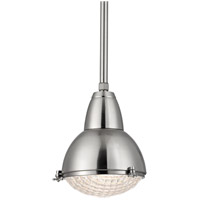 Hudson Valley 8109-SN Belmont 1 Light 11 inch Satin Nickel Pendant Ceiling Light