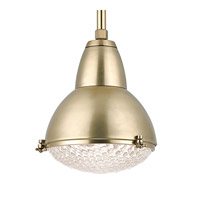 Hudson Valley Lighting Belmont 1 Light Pendant in Aged Brass 8113-AGB
