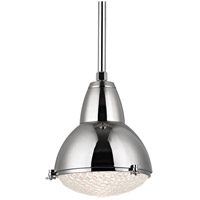 Hudson Valley Lighting Belmont 1 Light Pendant in Polished Nickel 8113-PN