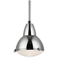 Hudson Valley 8113-PN Belmont 1 Light 15 inch Polished Nickel Pendant Ceiling Light