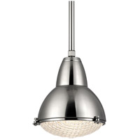 Hudson Valley Lighting Belmont 1 Light Pendant in Satin Nickel 8113-SN