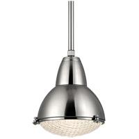Hudson Valley 8113-SN Belmont 1 Light 15 inch Satin Nickel Pendant Ceiling Light