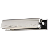 Hudson Valley 8114-PN Garfield LED 16 inch Polished Nickel Wall Sconce Wall Light