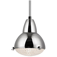 Hudson Valley Lighting Belmont 1 Light Pendant in Polished Nickel 8117-PN