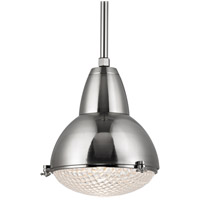 Hudson Valley Lighting Belmont 1 Light Pendant in Satin Nickel 8117-SN