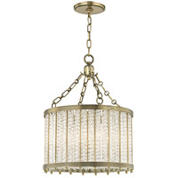 Shelby 4 Light 16 inch Aged Brass Pendant Ceiling Light