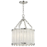 Hudson Valley 8119-PN Shelby 4 Light 16 inch Polished Nickel Pendant Ceiling Light