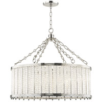 Hudson Valley 8125-PN Shelby 8 Light 28 inch Polished Nickel Pendant Ceiling Light