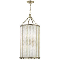 Shelby 8 Light 16 inch Aged Brass Pendant Ceiling Light