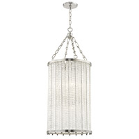 Hudson Valley 8138-PN Shelby 8 Light 16 inch Polished Nickel Pendant Ceiling Light