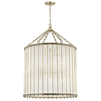 Shelby 12 Light 28 inch Aged Brass Pendant Ceiling Light