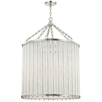 Hudson Valley 8140-PN Shelby 12 Light 28 inch Polished Nickel Pendant Ceiling Light