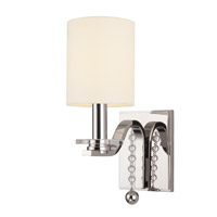 Hudson Valley Lighting Bolton 1 Light Wall Sconce in Polished Nickel 8161-PN