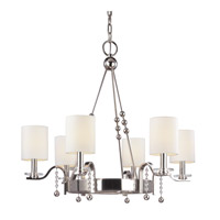 Hudson Valley Lighting Bolton 6 Light Chandelier in Polished Nickel 8166-PN