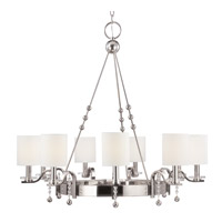 Hudson Valley Lighting Bolton 9 Light Chandelier in Polished Nickel 8169-PN
