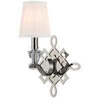 Fowler 1 Light 10 inch Polished Nickel Wall Sconce Wall Light