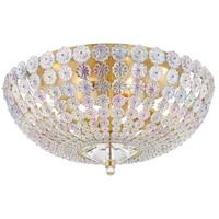 Hudson Valley 8217-AGB Floral Park 1 Light 9 inch Aged Brass Flush Mount Ceiling Light