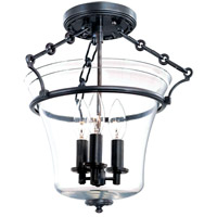 Hudson Valley Lighting Eaton 3 Light Semi Flush in Old Bronze 830-OB photo thumbnail