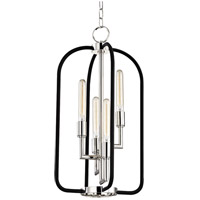 Hudson Valley 8314-PN Angler 4 Light 15 inch Polished Nickel Chandelier Ceiling Light