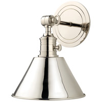 Garden City 1 Light 8 inch Polished Nickel Wall Sconce Wall Light