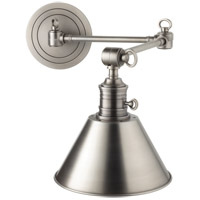 Hudson Valley Lighting Garden City 1 Light Wall Sconce in Antique Nickel 8322-AN