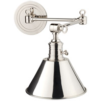Hudson Valley 8322-PN Garden City 1 Light 8 inch Polished Nickel Wall Sconce Wall Light