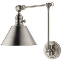 Garden City 1 Light 8 inch Antique Nickel Wall Sconce Wall Light