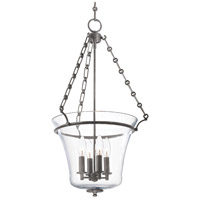 Eaton 4 Light 16 inch Historic Nickel Pendant Ceiling Light