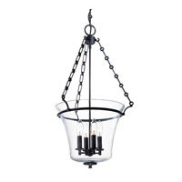 Hudson Valley Lighting Eaton 4 Light Pendant in Old Bronze 833-OB