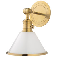Hudson Valley 8331-AGB Garden City 1 Light 8 inch Aged Brass Wall Sconce Wall Light