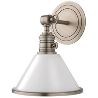 Hudson Valley 8331-AN Garden City 1 Light 8 inch Antique Nickel Wall Sconce Wall Light photo thumbnail