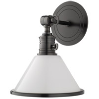 Hudson Valley 8331-OB Garden City 9 inch 100 watt Old Bronze Pivot Wall Sconce Wall Light