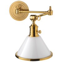 Hudson Valley 8332-AGB Garden City 1 Light 8 inch Aged Brass Wall Sconce Wall Light