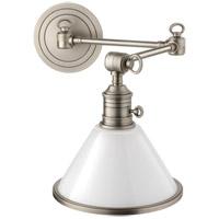 Hudson Valley 8332-AN Garden City 1 Light 8 inch Antique Nickel Wall Sconce Wall Light