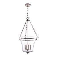 Hudson Valley Lighting Eaton 4 Light Pendant in Polished Nickel 834-PN