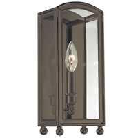 Hudson Valley 8401-DB Millbrook 1 Light 6 inch Distressed Bronze Wall Sconce Wall Light