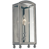 Millbrook 1 Light 6 inch Historic Nickel Wall Sconce Wall Light