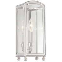 Hudson Valley Lighting Millbrook 1 Light Wall Sconce in Polished Nickel 8401-PN
