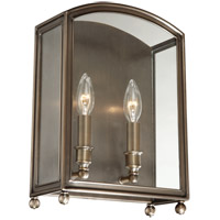 Millbrook 2 Light 10 inch Distressed Bronze Wall Sconce Wall Light