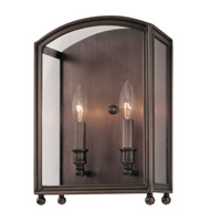 Hudson Valley 8402-PN Millbrook 2 Light 10 inch Polished Nickel Wall Sconce Wall Light