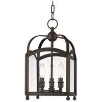 Millbrook 3 Light 9 inch Distressed Bronze Pendant Ceiling Light