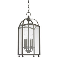 Millbrook 4 Light 10 inch Distressed Bronze Pendant Ceiling Light