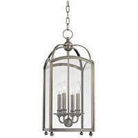 Millbrook 4 Light 10 inch Historic Nickel Pendant Ceiling Light
