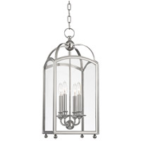 Hudson Valley Lighting Millbrook 4 Light Pendant in Polished Nickel 8410-PN