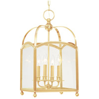 Millbrook 4 Light 12 inch Aged Brass Pendant Ceiling Light